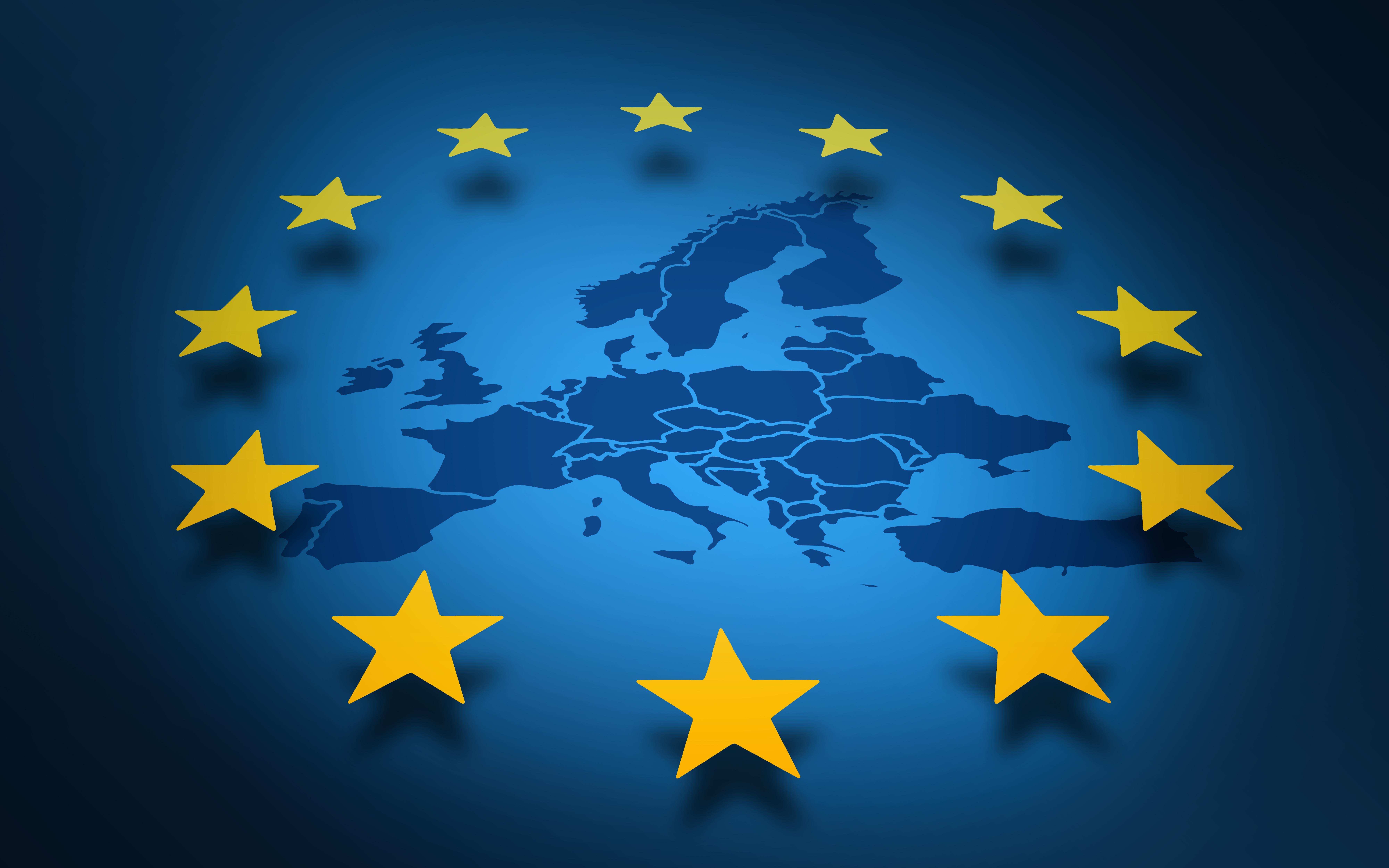 Les plus belles toiles de notre drapeau europ en - La chambre des preteurs de l union europeenne ...